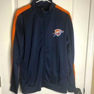 NWT NBA Oklahoma City track jacket